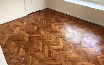 Floor sanding and painting