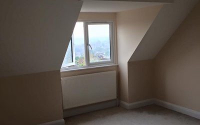 Re-decoration of new loft conversion